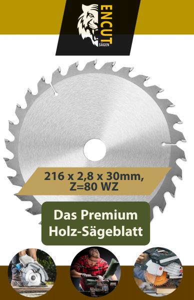 216 x 2,8 x 30mm, Z=80 WZ
