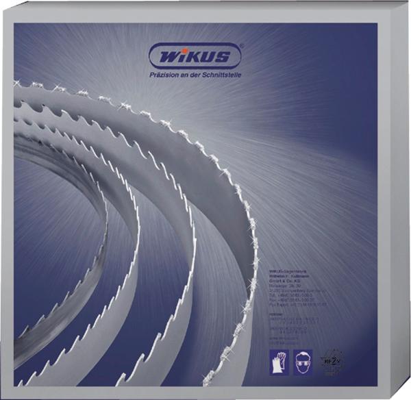 WIKUS Futura Bandsägeblatt 4870 x 34 x 1,1mm, 3-4 ZpZ