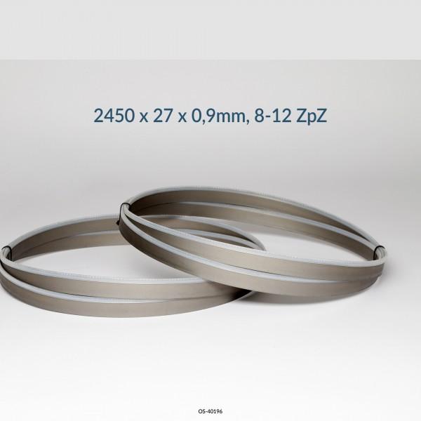 Encut Hochleistungs-Bandsägeblatt 2450 x 27 x 0,9mm, 8-12 ZpZ Bimetall M42