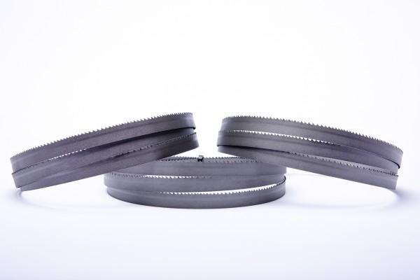 3er SET Encut Hochleistungs-Bandsägeblatt 1440 x 13 x 0,65mm, 8-12 ZpZ Bimetall M42