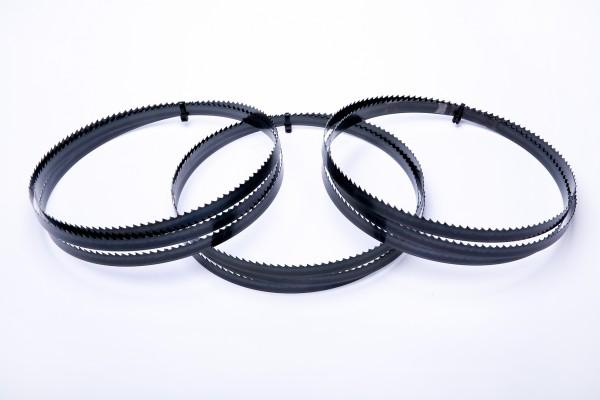 3er SET Encut Hochleistungs-Bandsägeblatt 2240 x 16 x 0,65mm, 4 ZpZ Werkzeugstahl