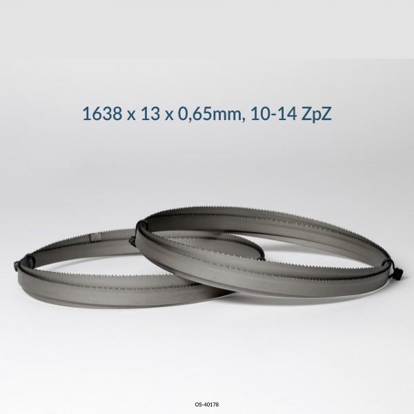 3er SET Encut Hochleistungs-Bandsägeblatt 1638 x 13 x 0,65mm, 10-14 ZpZ Bimetall M42